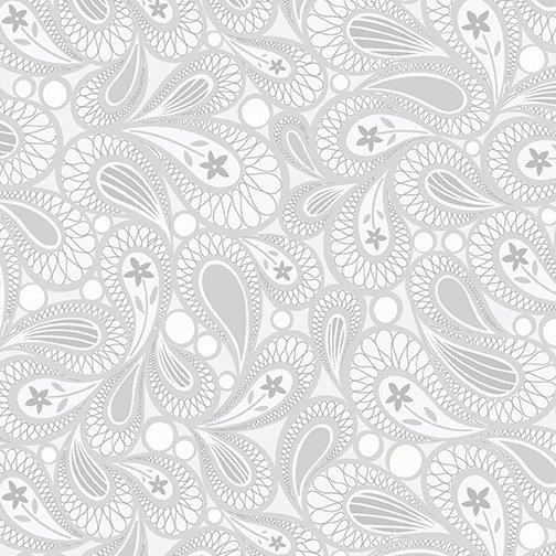 Contempo Free Motion Fantasy 05445-08 Paisley Grey