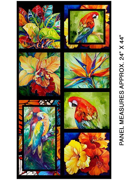 Benartex Rainforest Panel 06860-99