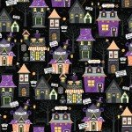 Maywood Hometown Halloween Hometown Houses MAS9920-J Black