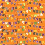 Maywood Hometown Halloween - Halloween Flags MAS9921-O Orange