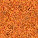 Maywood Hometown Halloween - Spooky Webs MAS9923-O Orange