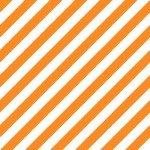 Maywood Hometown Halloween -Witchy Stripe MAS9926-OW Orange/White