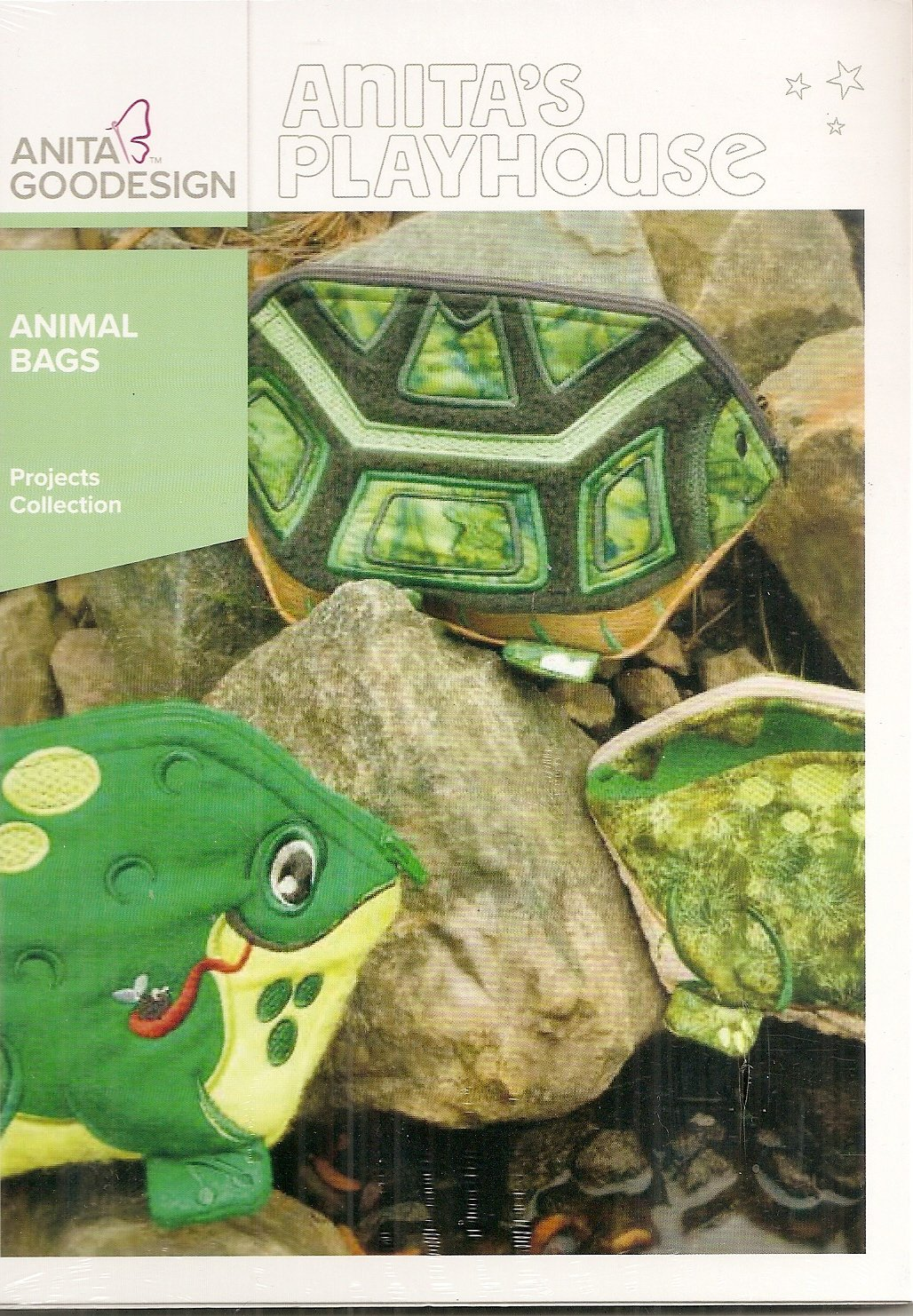 Anita Goodesign Projects Animal Bags