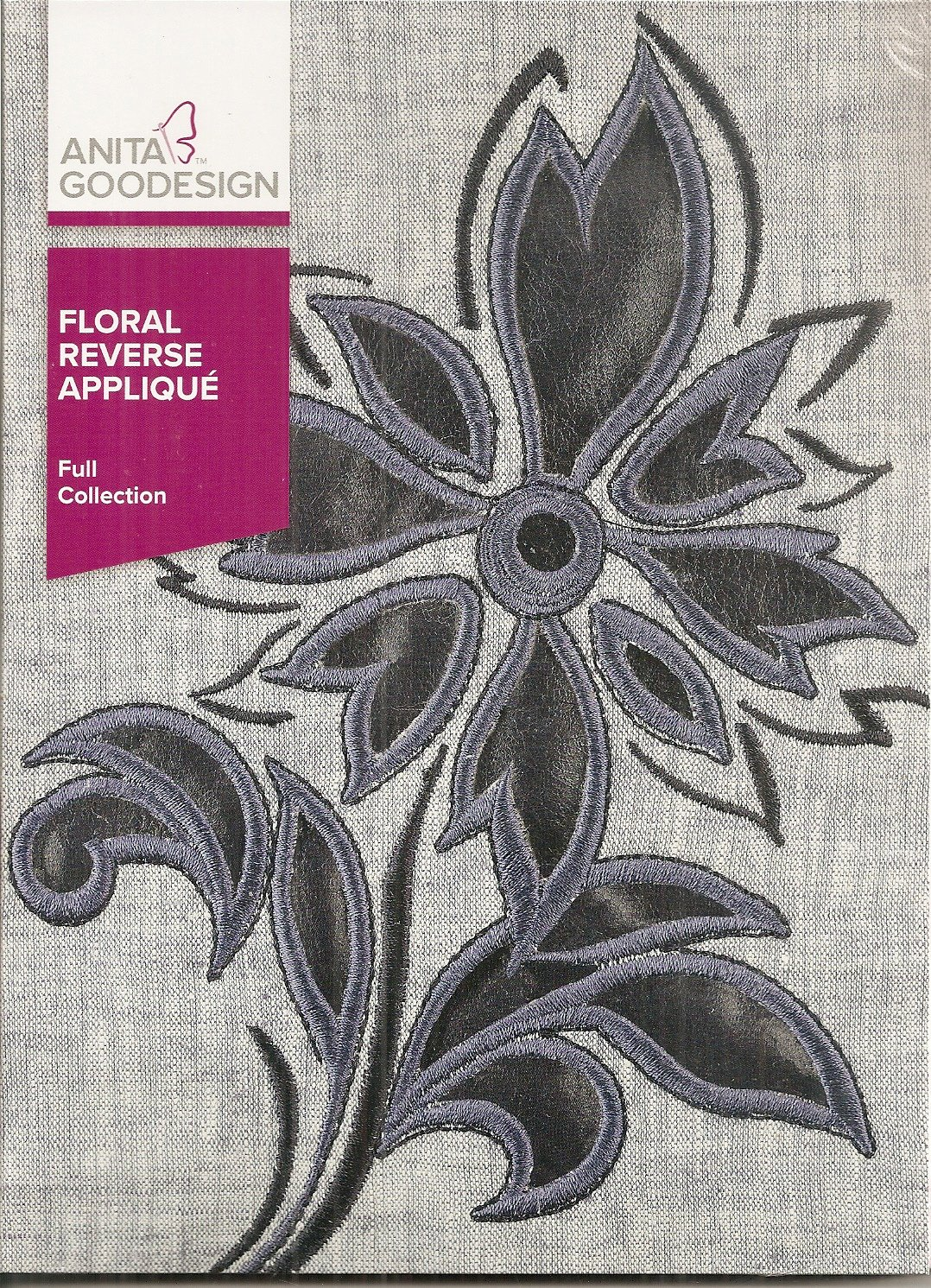 Anita Goodesign Full Collection Floral Reverse Applique