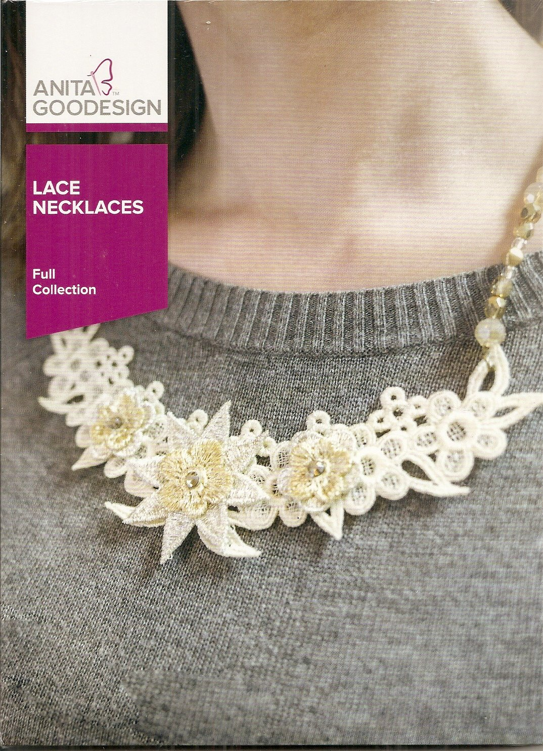 Anita Goodesign Full Collection Lace Necklaces
