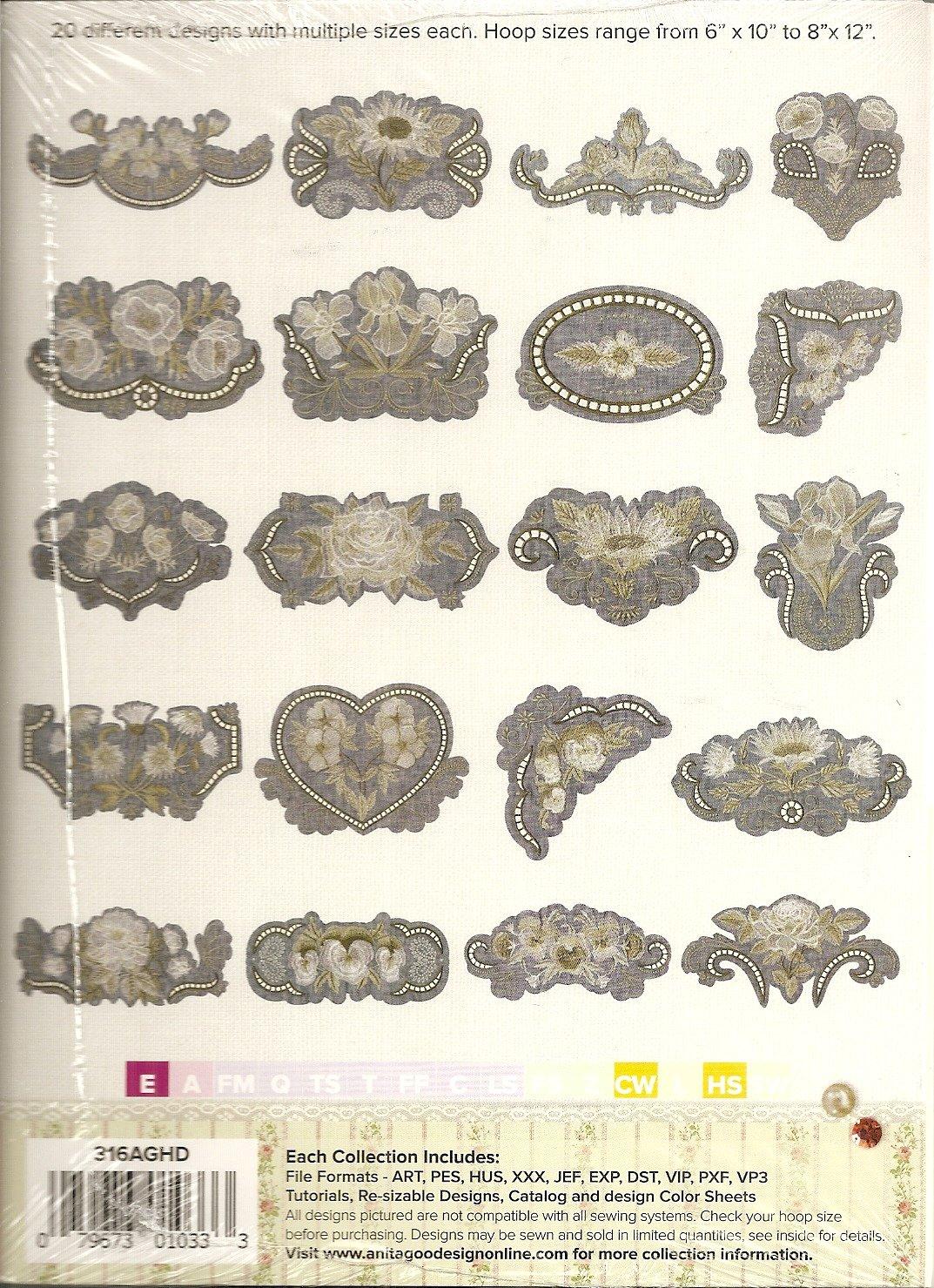 Anita Goodesign Heirloom Collection Heirloom Flowers - 79673010333