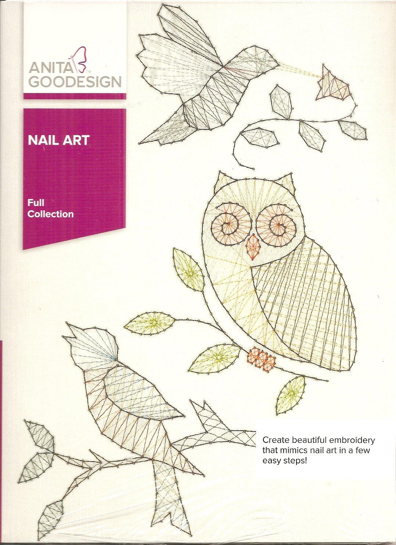 Anita Goodesign Full Collection Nail Art