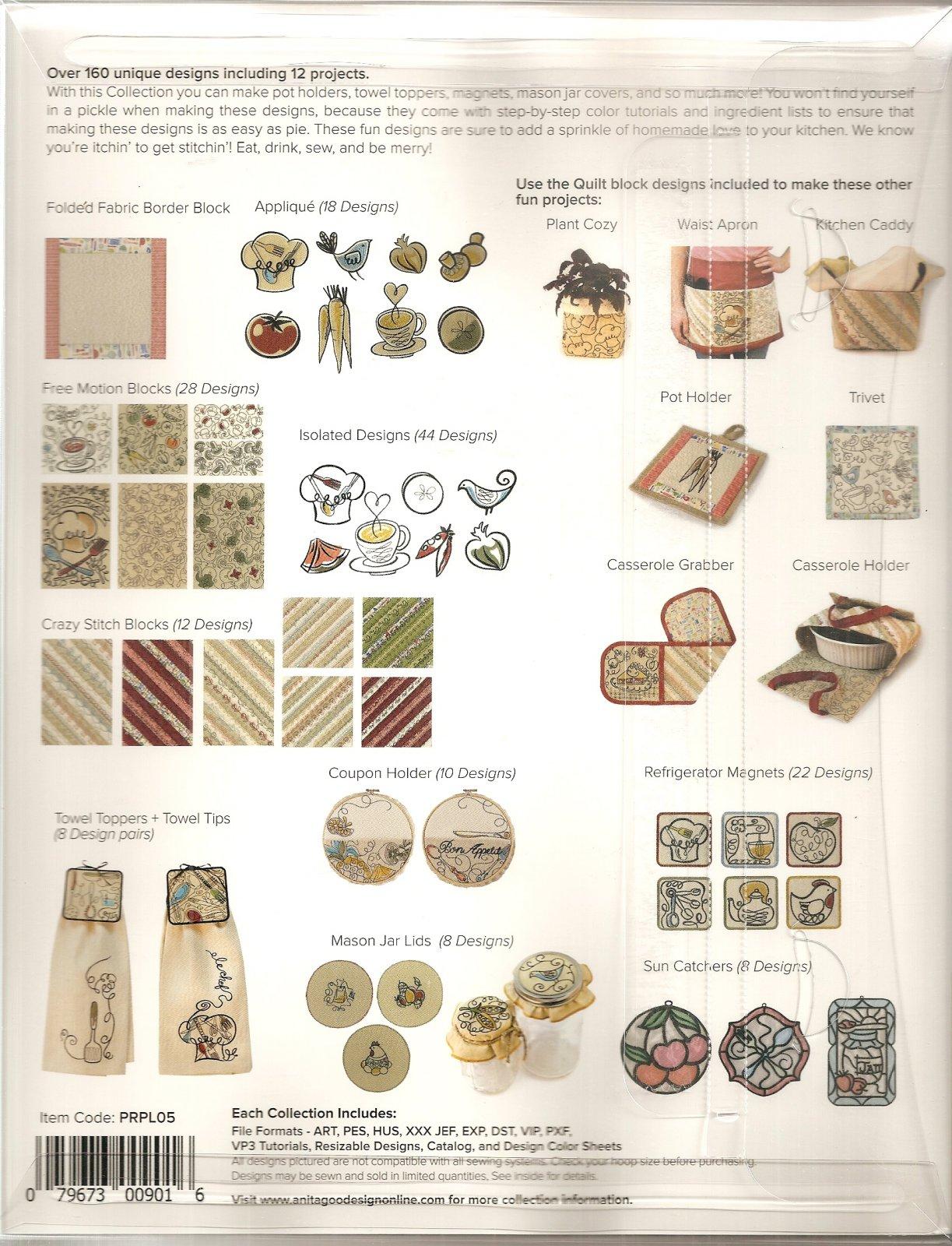 Anita Goodesign Premium Plus Collection Sitichin\' in the Kitchen ...