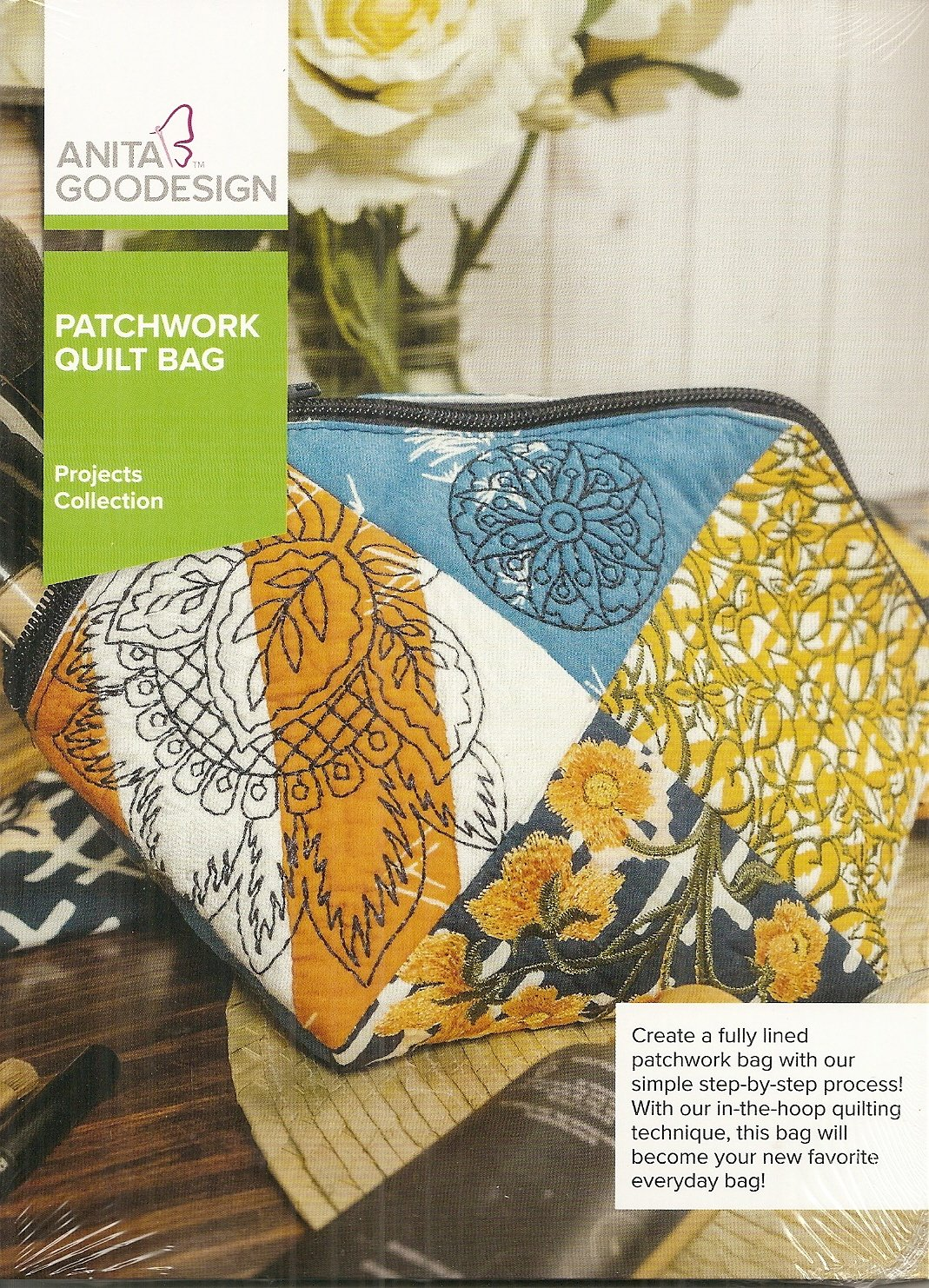 Anita Goodesign Projects Patchwork Quilt Bag