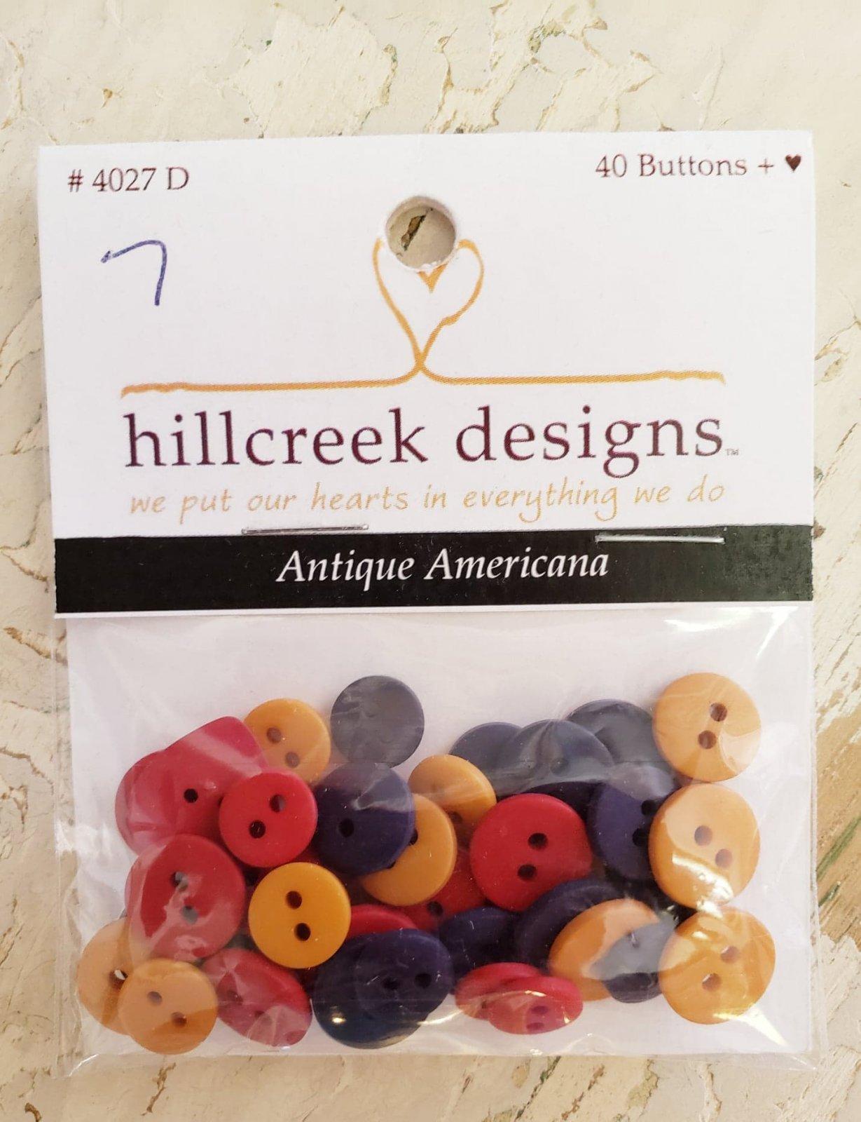Buttons-Antique Americana