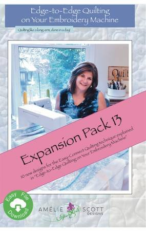 Edge to Edge Quilting Expansion Pack 13