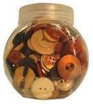 Buttons-Jars Cookie Jar Mixed