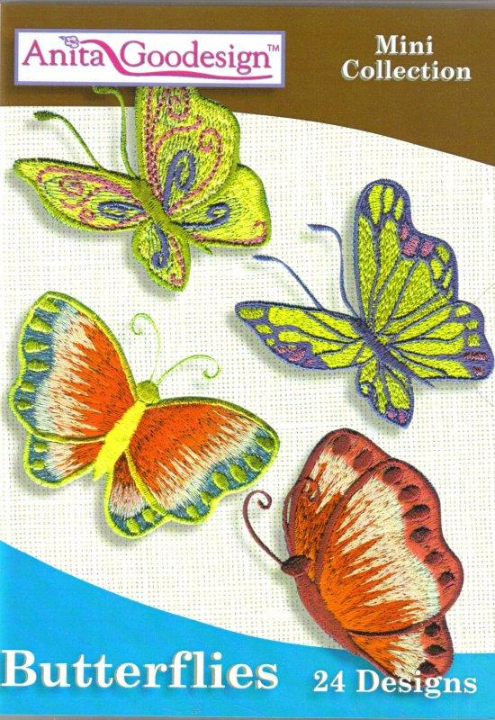 Anita Goodesign  Mini Collection Butterflies