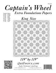 Captains Wheel King Size Extra Foundation Papers