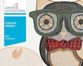 Anita Goodesign Mini Collection Casual Friday