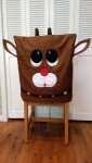 Reindeer Chair Cover
