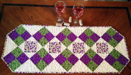 Fun four-Patch Table Runner