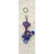 Key Chain Purple
