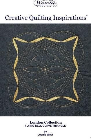 Creative Quilting Inspirations Flying Bell Curve