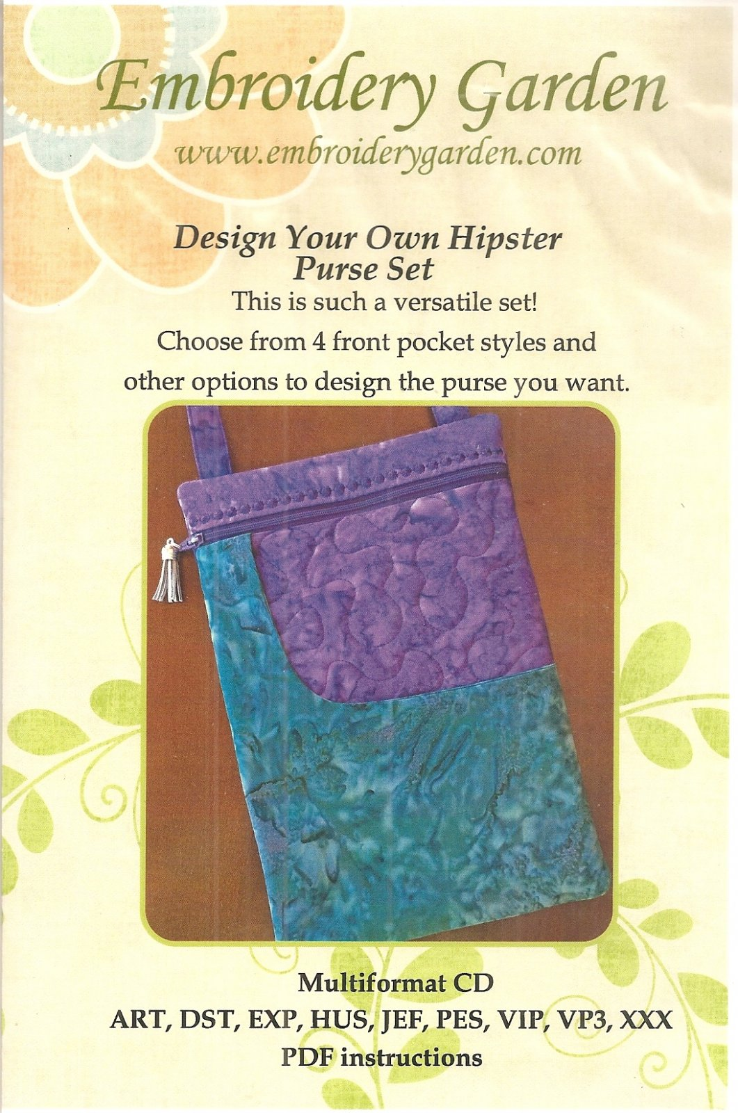 Design Your Own Hipster Purse Set