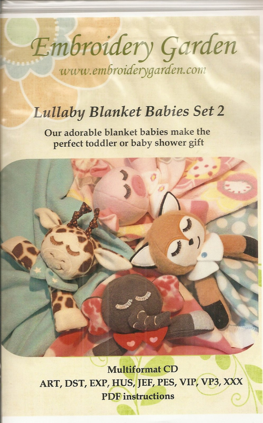 Lullaby Blanket Babies Set 2
