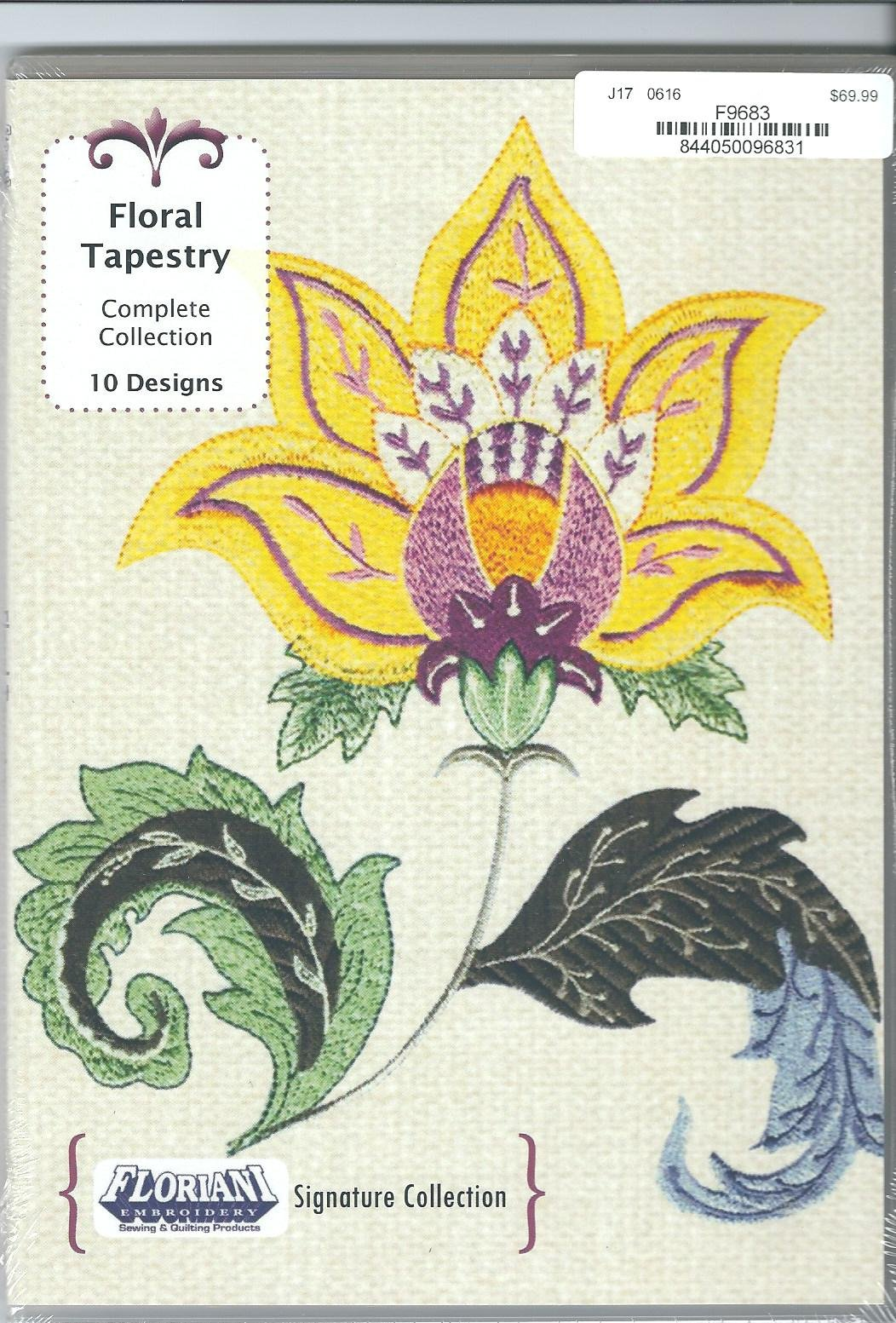 Floriani Embroidery Design Collection Floral Tapestry