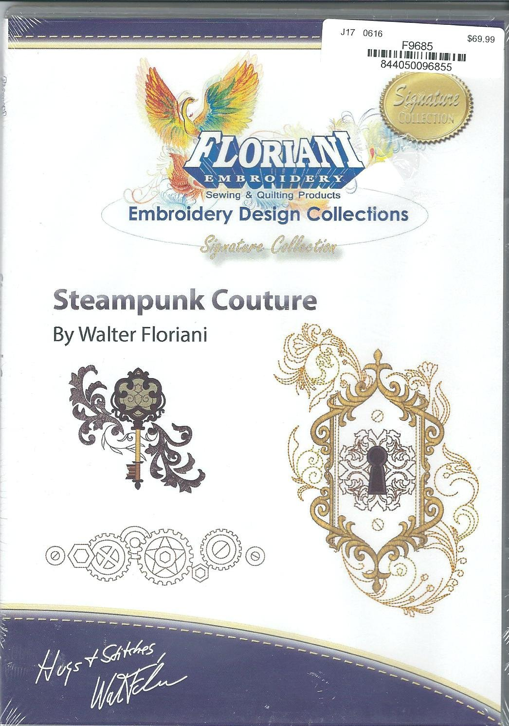 Floriani Embroidery Design Collection Steampunk Couture