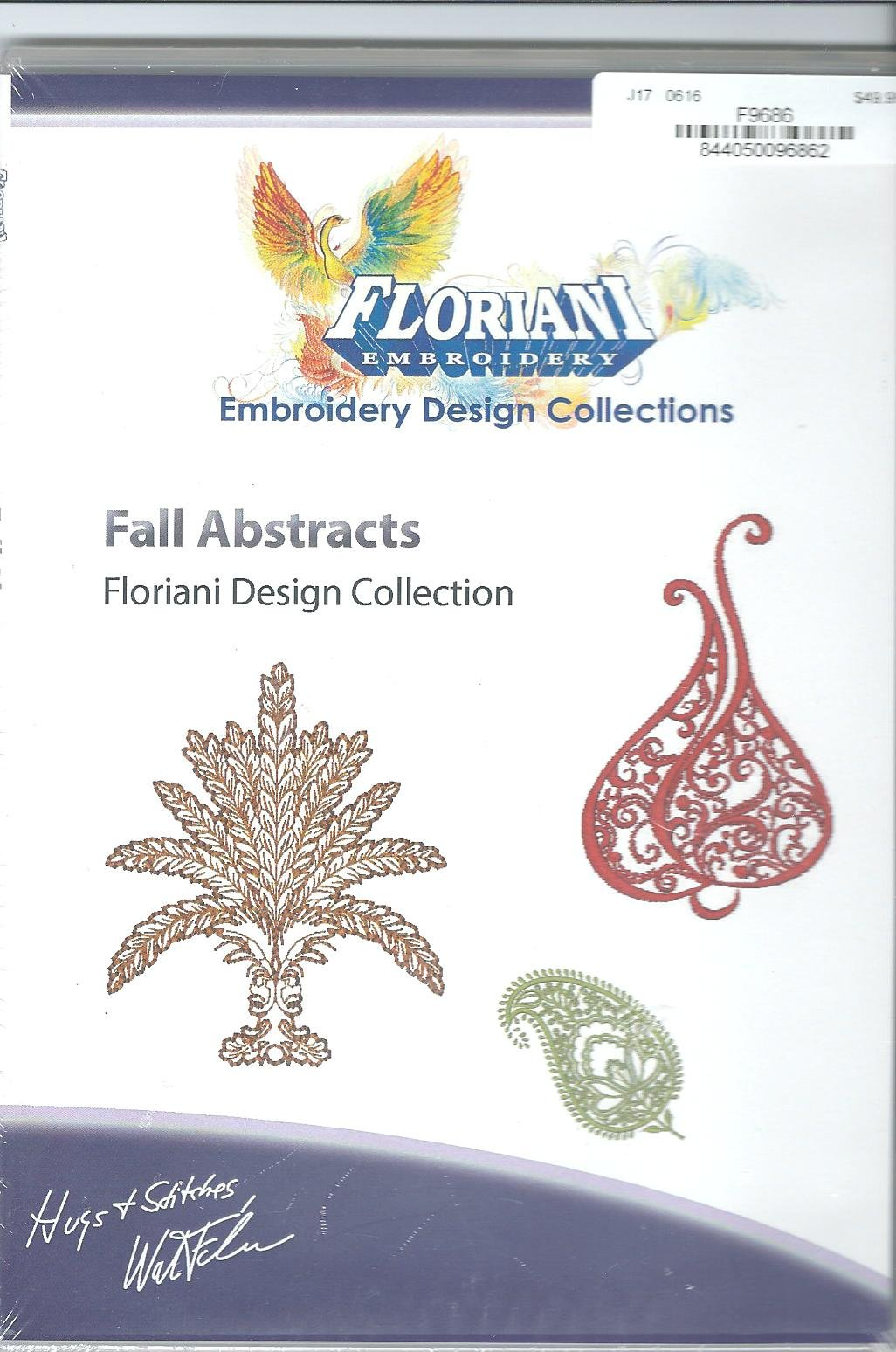 Floriani Embroidery Design Collection Fall Abstracts