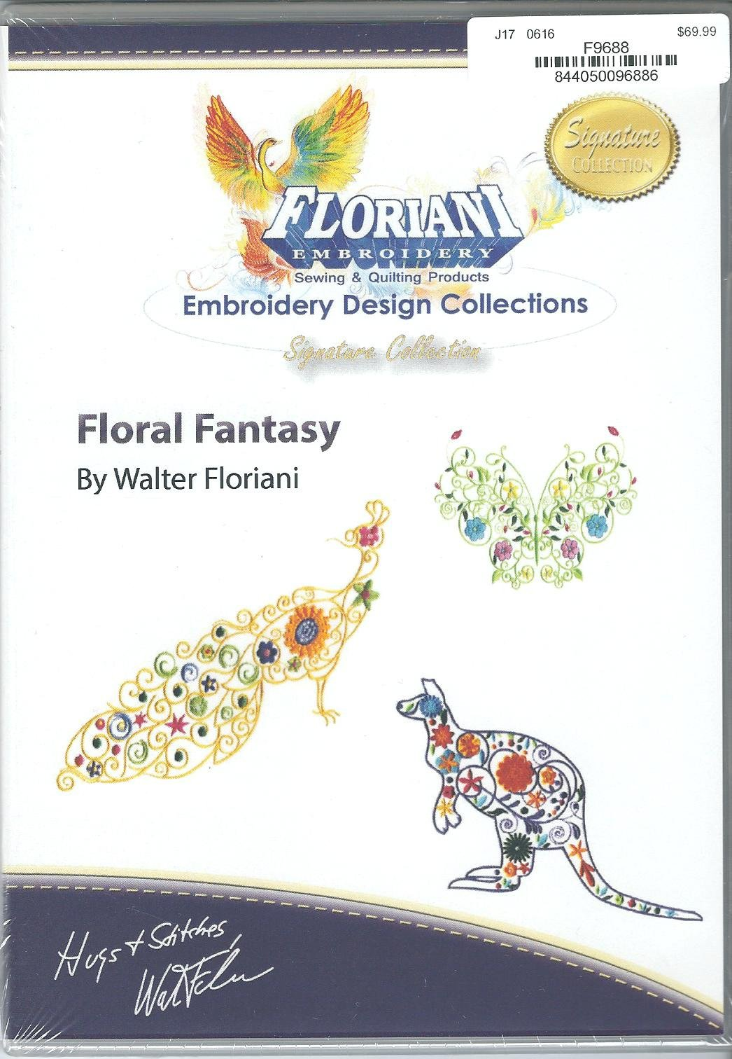 Floriani Embroidery Design Collection Floral Fantasy