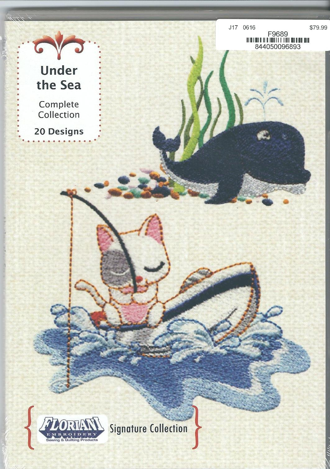 Floriani Embroidery Design Collection Under the Sea