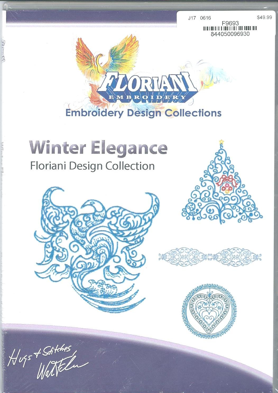 Floriani Embroidery Design Collection Winter Elegance