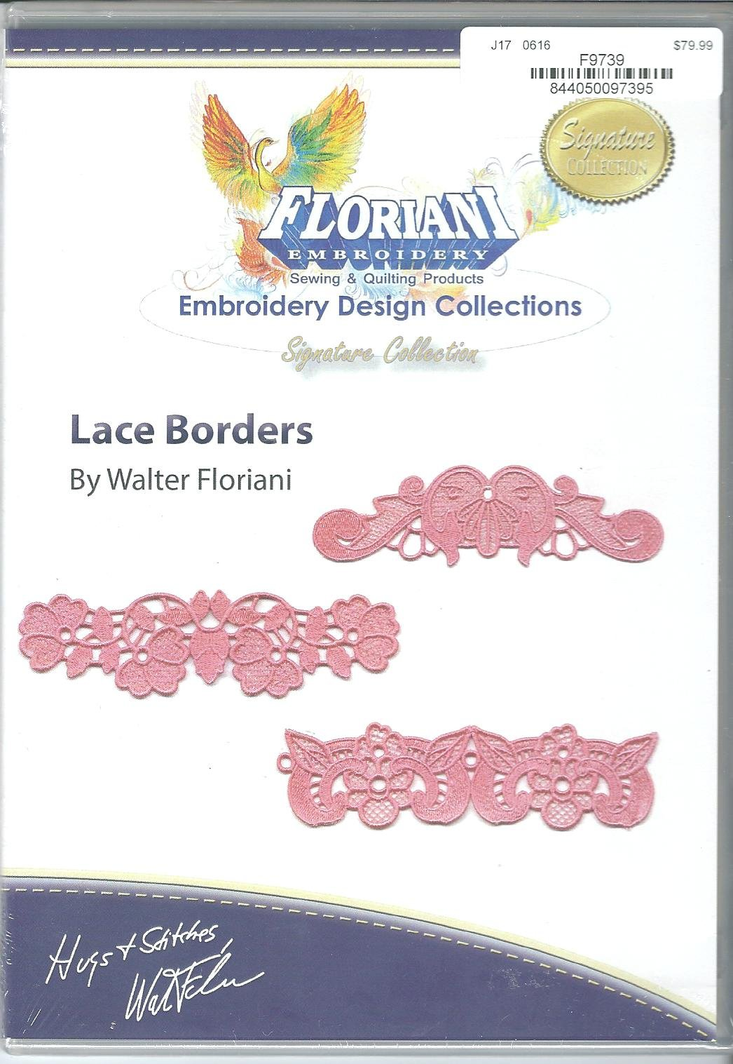 Floriani Embroidery Design Collection Lace Borders