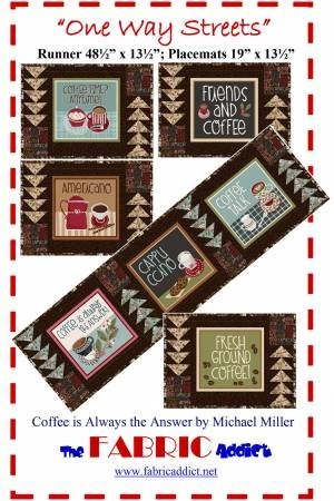 One Way Streets Runner & Placemat Pattern