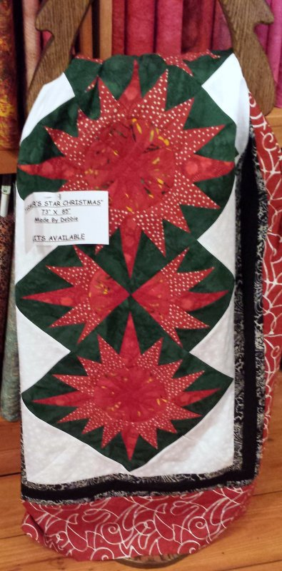 Farmers Star Christmas Quilt Kit