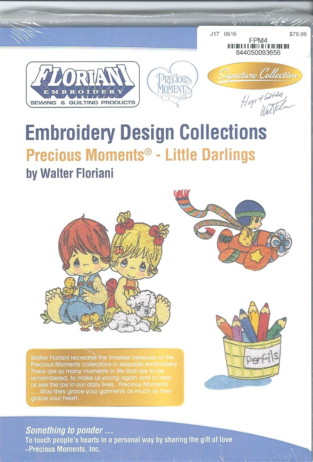 Floriani Embroidery Design Collection Precious Moments Little Darlings