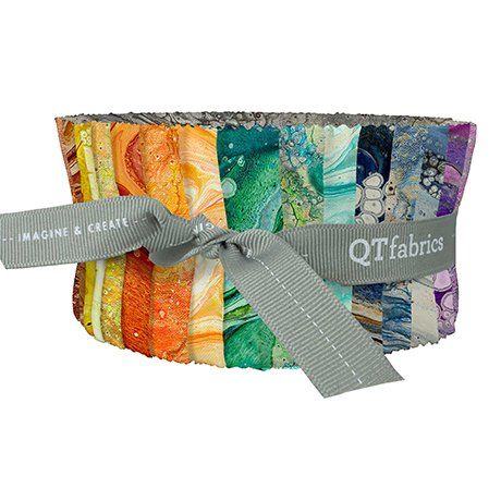 Quilting Treasures Fusion ll Assorted Strips 2 1/2 x WOF