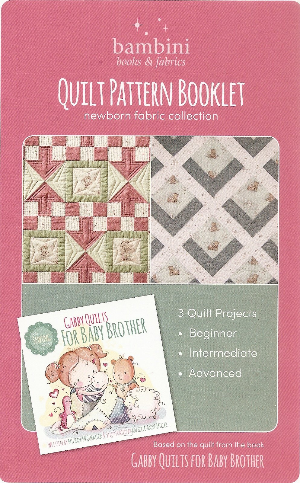 Gabby Quilts Quilt Pattern Booklet 860332000396