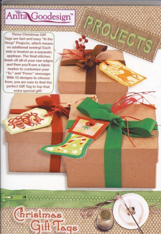 Anita Goodesign - Projects - Christmas Gift Tags