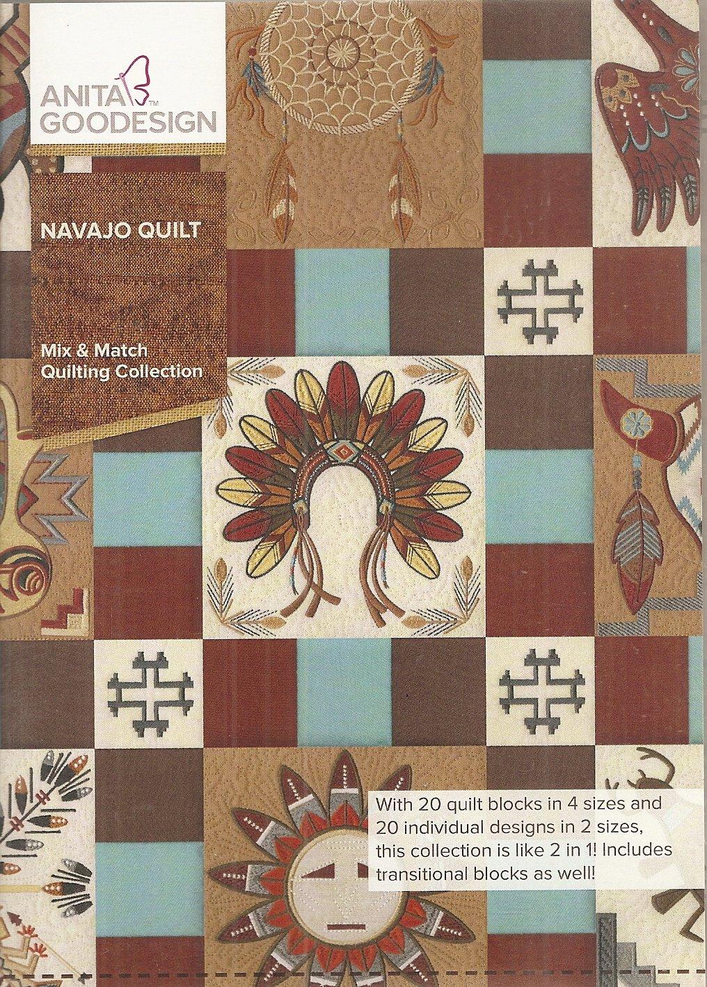 Anita Goodesign Mix Match Quilting Navajo Quilt 079673005285