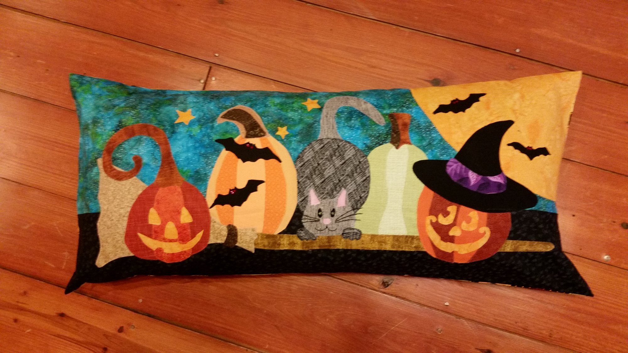 Halloween Patch Pillow Kit