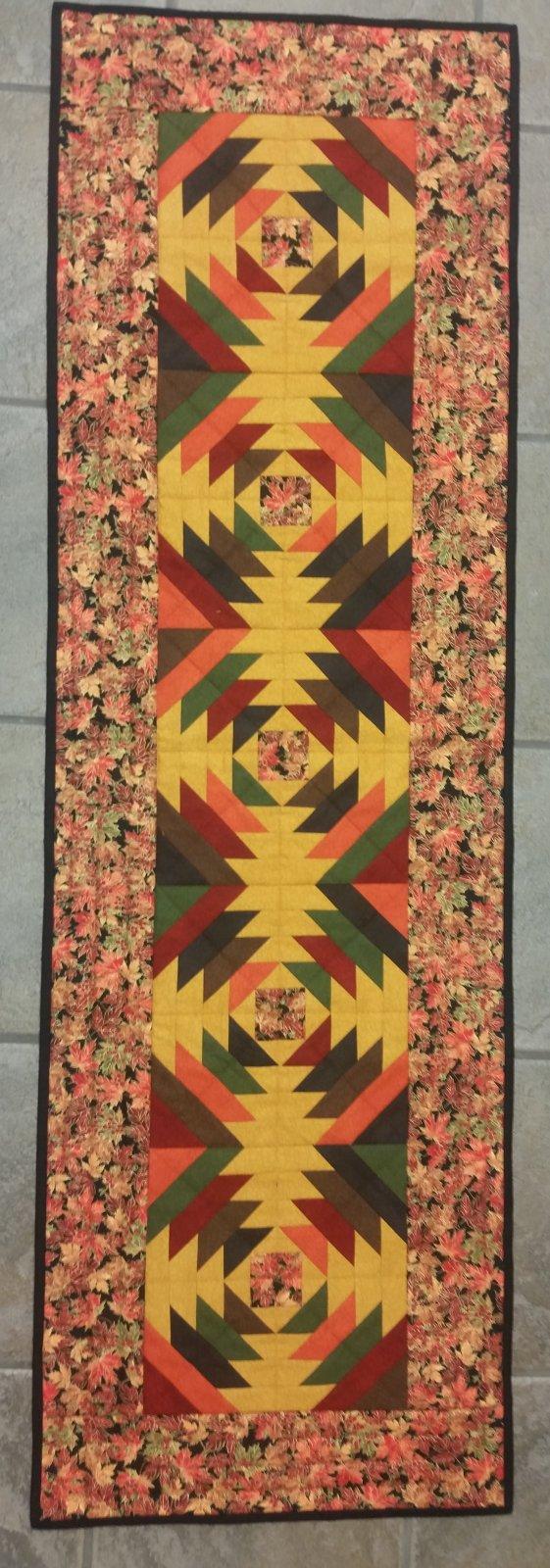 Fall Pineapple Table Runner Kit