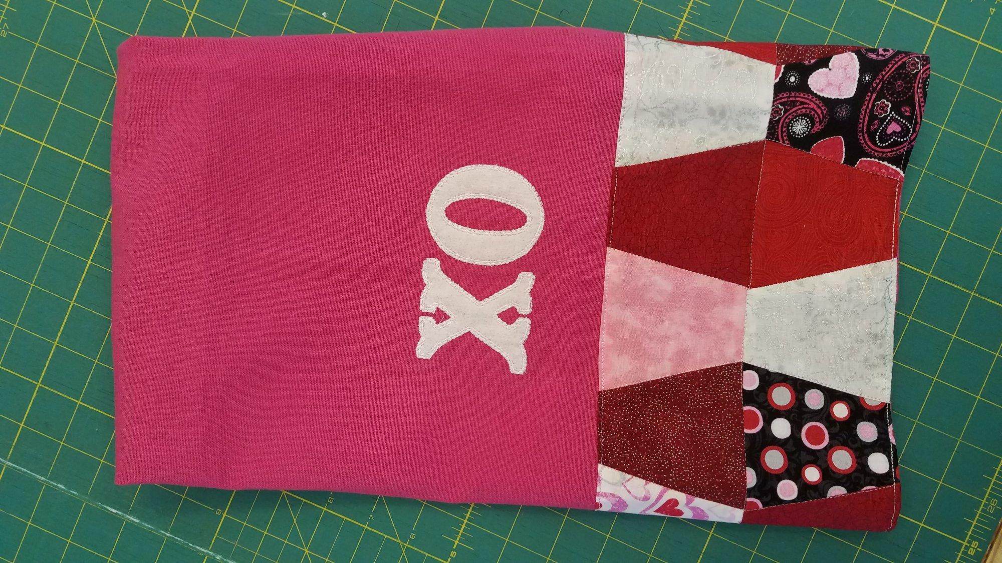 Hugs and Kisses Tea Towel Kit
