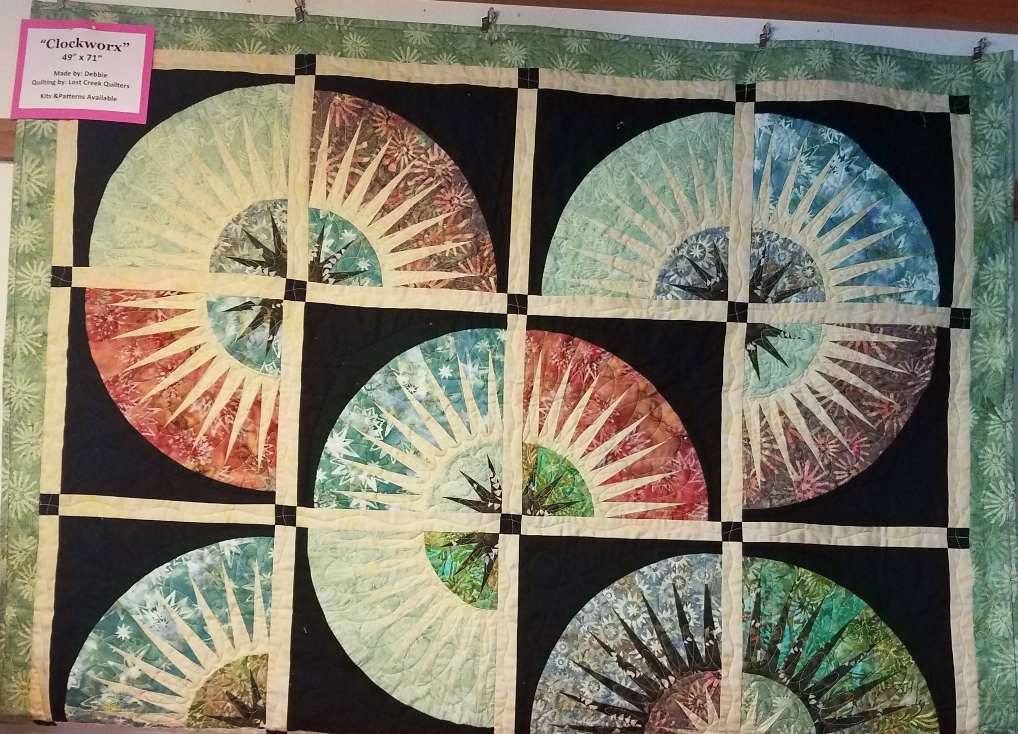 Clockworx Quilt Kit