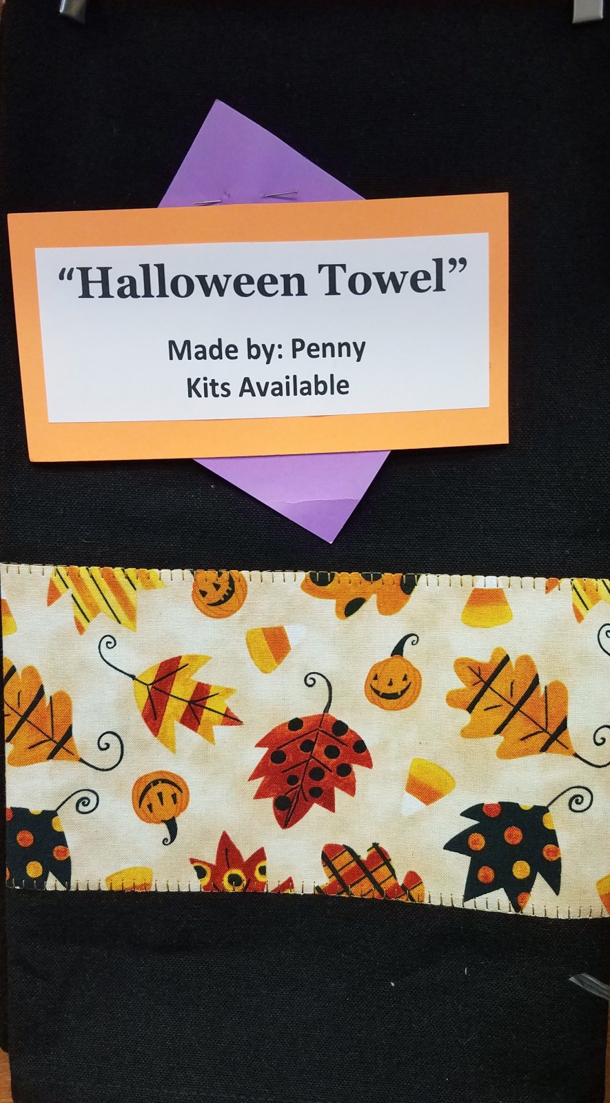 Halloween Towel Kit