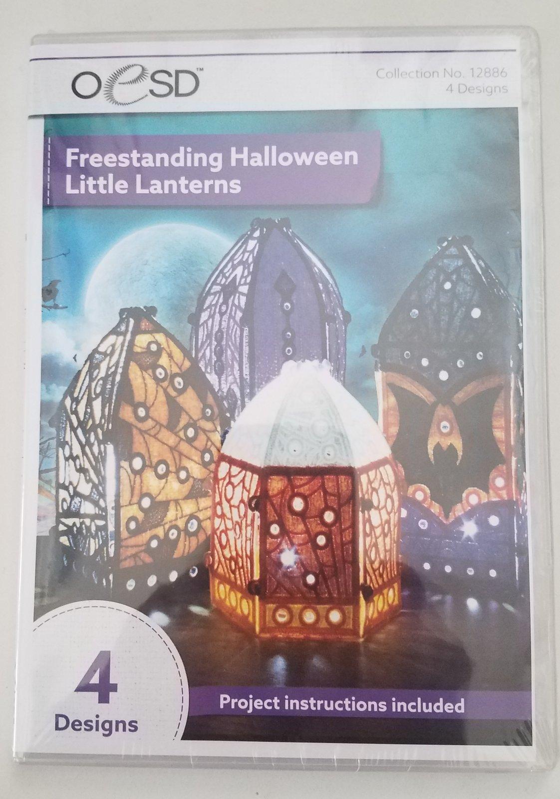 OESD Freestanding Halloween Little Lanterns Cd