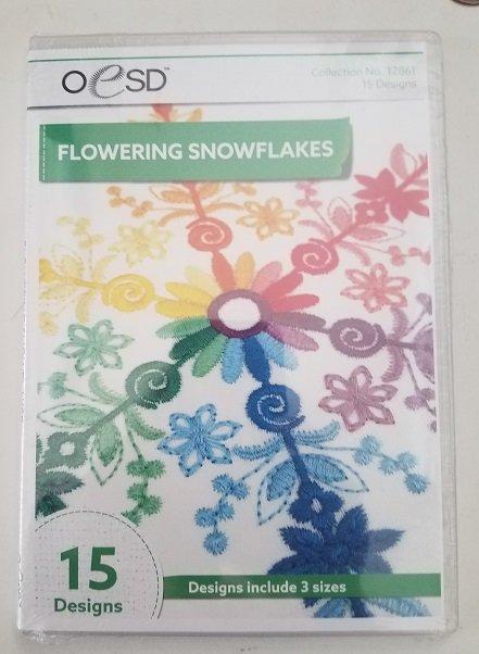 OESD Flowering Snowflakes Cd