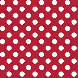 Maywood Kimberbell Basic Dots MAS8216-R Red