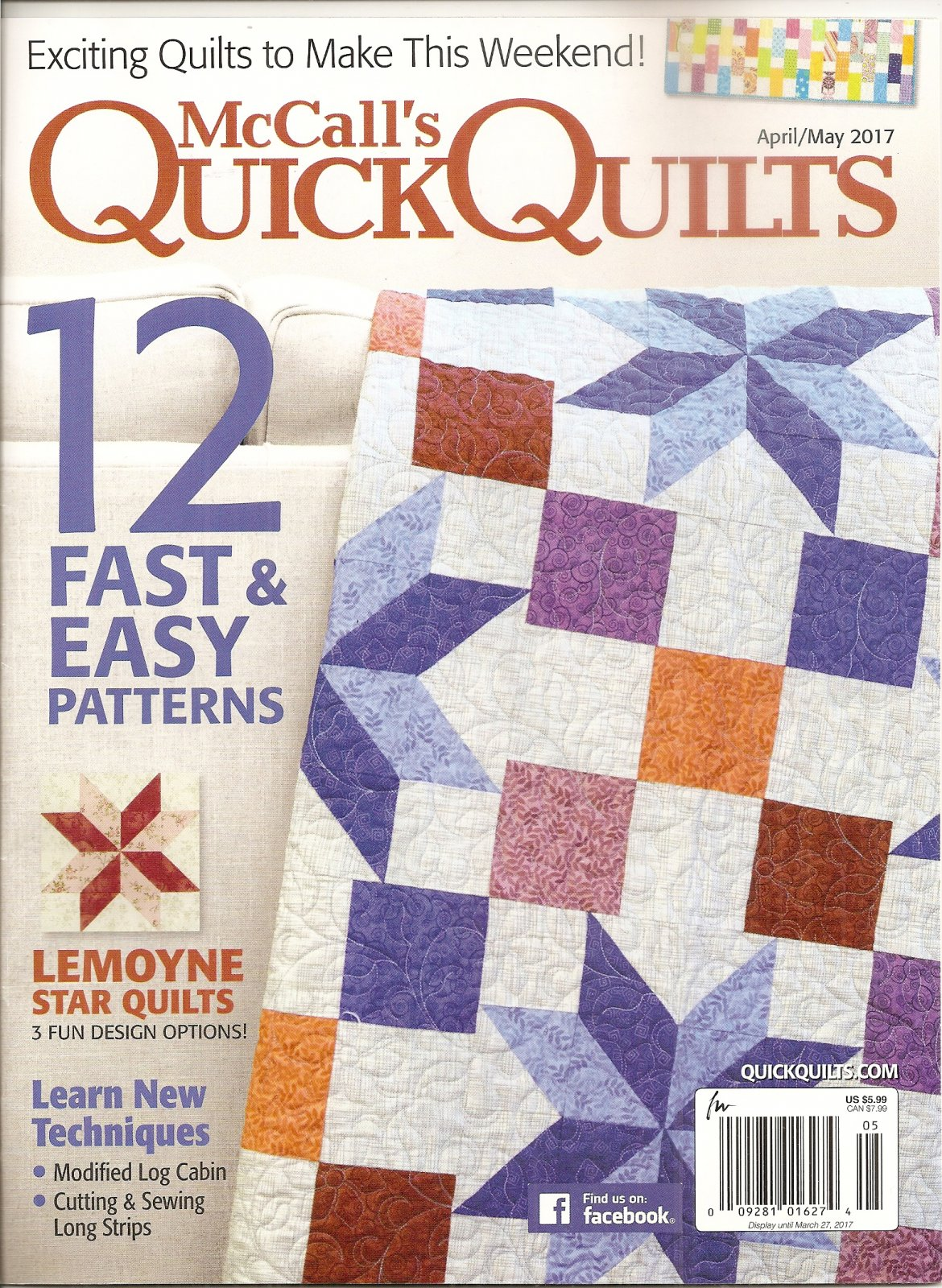 McCall's Quick Quilts April/May 2017