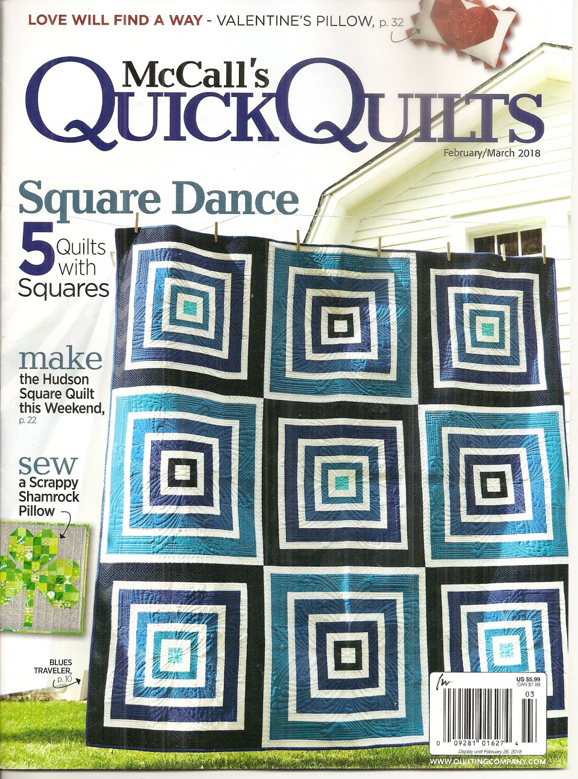 McCall's Quick Quilts February/March 2018