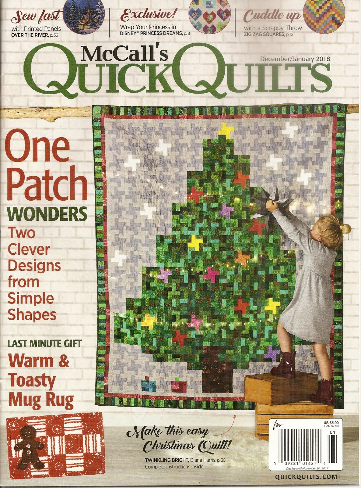McCall's Quick Quilts December/January 2018